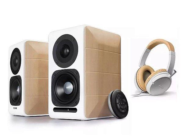 Kit Home Estudio Caixa Edifier S880 88w + Fone Profissional