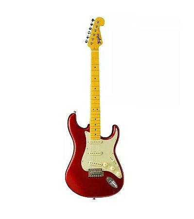 Kit Guitarra Stratocaster Tagima TG530 MR Capa Caixa Cabo