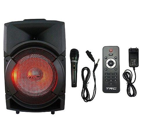 Caixa Amplificada Multiuso Bluetooth 150W Potência TRC5511