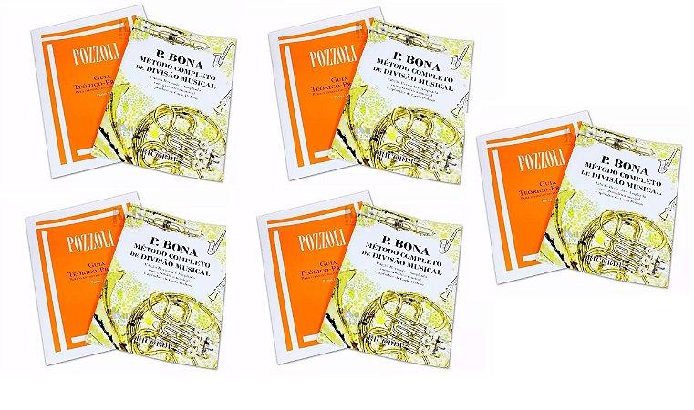 Guia Livro Teórico Metódo Musical 5 Bona e 5 Pozzoli I e II
