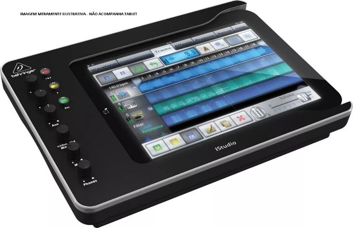 Interface de Áudio Behringer Para Estudio  IStudio IS202