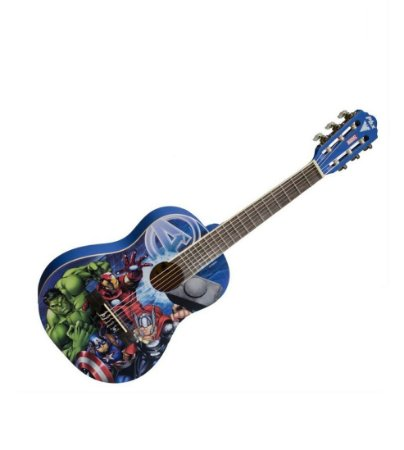 Violão Infantil Criança 1/2 Avengers Marvel PHX  VIM-A1