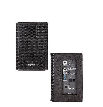 Kit Caixa Monitor Ativo Passivo Donner 250W Titanium Saga