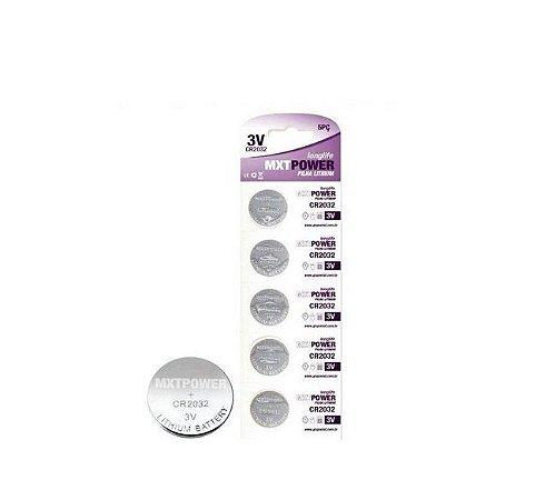 Bateria Lithium Cr2032 MXT Caixa Fechada 150 Unidades 3V