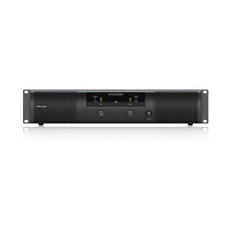 Amplificador de Potencia Behringer NX6000 6000W 220V