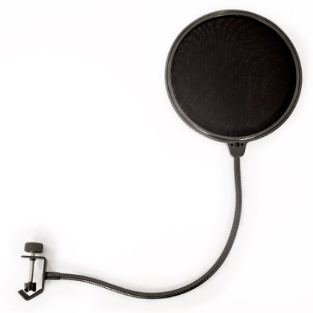 Pop Filter Studio Para Microfone Condensador Lexsen LPF 016