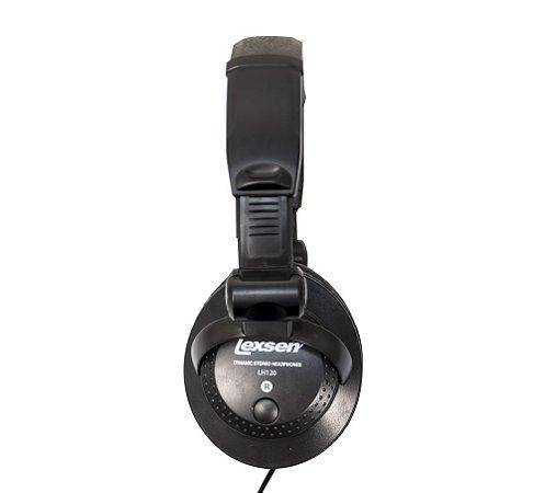 Fone de Ouvido Headphone Dinamico Lexsen LH120 Adaptador P10
