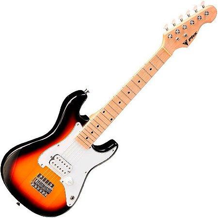 Guitarra Infantil Profissional Stratocaster Phx Sunburst