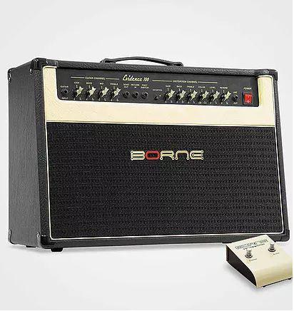 Amplificador P/ Guitarra Borne Evidence 100 Watts Rms