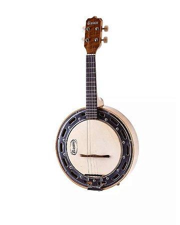 Banjo Rozini Elétrico Captação Com Cápsula Leson Nat Rj11eln