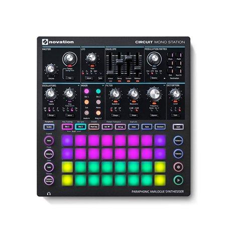 Sintetizador Novation Circuit Mono Station Midi Usb