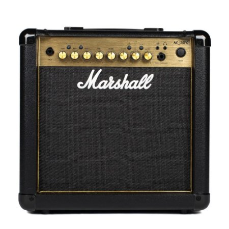 Amplificador para Guitarra Marshall MG15GFX GOLD 15W