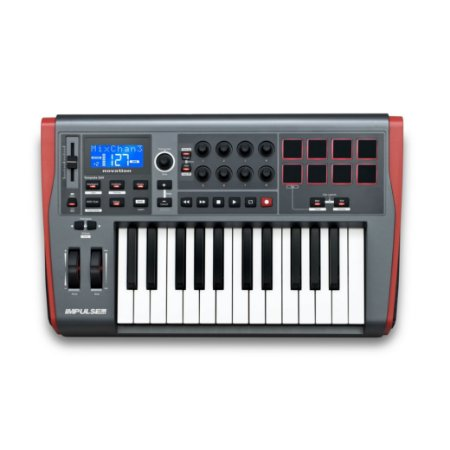 Controlador MIDI Novation IMPULSE 25