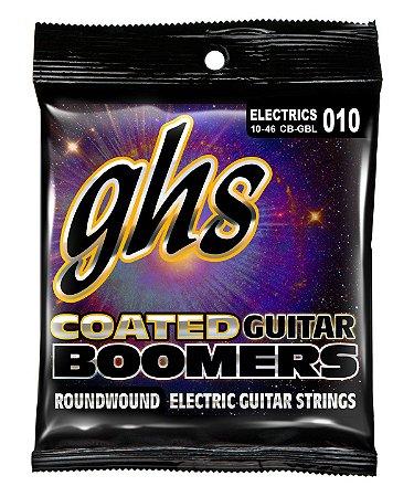 Encordoamento para Guitarra 6 Cordas GHS CB-GBL (0.10)