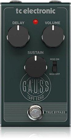 Pedal para Guitarra TC Electronic Gauss Tape Echo