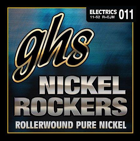 Encordoamento para Guitarra 6 Cordas GHS R+EJM (0.11)