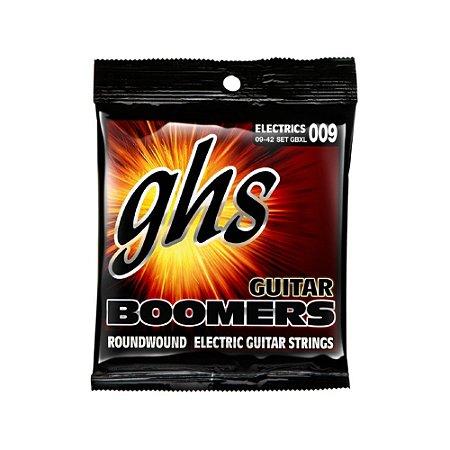 Encordoamento para Guitarra 6 Cordas GHS GBXL (0.09)