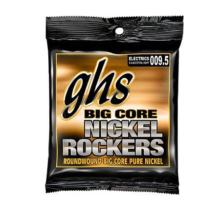 Encordoamento para Guitarra 6 Cordas GHS BCXL (09.5)