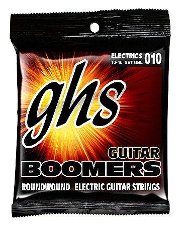Encordoamento para Guitarra 6 Cordas GHS GBL (0.10)