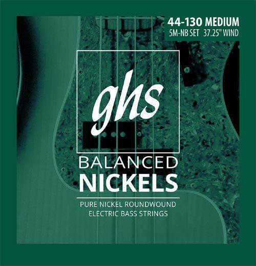 Encordoamento para Baixo 5 Cordas GHS 5M-NB (0.44)