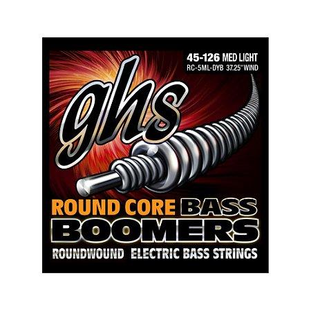 Encordoamento para Baixo 5 Cordas GHS RC-5ML-DYB (0.45)