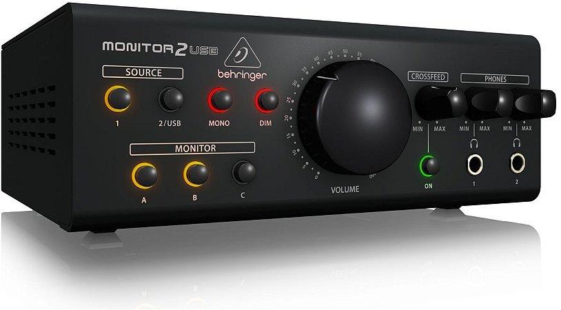 Controlador de Estudio Behringer PC0015 Monitor 2 USB