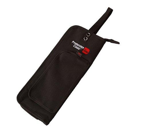Bag para Baquetas Preto Luxo Gator GP-007A Forro Sintético