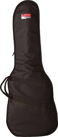 Capa Bag Luxo Para Guitarra Gator Nylon Resistente GBE