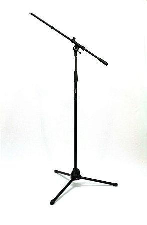 Estante Pedestal Para Microfone Regulável Benson MS107B