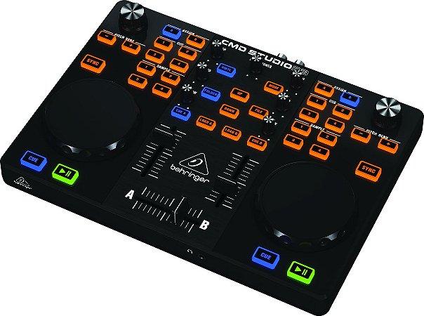 Controlador Para Studio DJ Behringer CMD STUDIO 2A USB