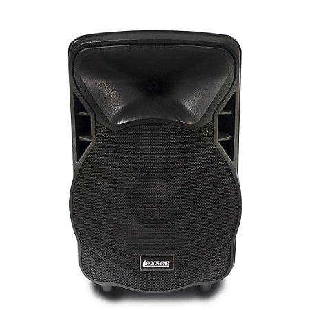 """Caixa Acústica Ativa Lexsen 100W RMS LS15 MP3 Bluetooth 15"""""""