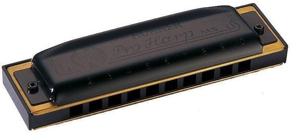 Gaita Harmônica Hohner Em Do C Pro Harp 562/20 MS Com Case