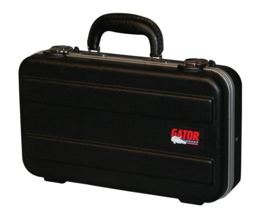 Case Para 6 Microfones Gator GM-6-PE Preto