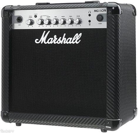 Amplificador para Guitarra Marshall MG15CFR-B 15W