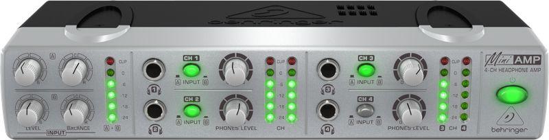 Amplificador De Fone de Ouvido Behringer AMP800 110V