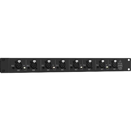 Splitter De Microfone Behringer 8 canais Ultralink MS800