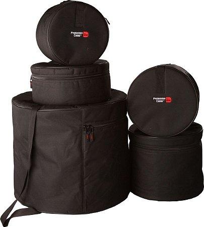 Capa Bag Para Bateria Gator 5 Peças Fusion GP-FUSION-100