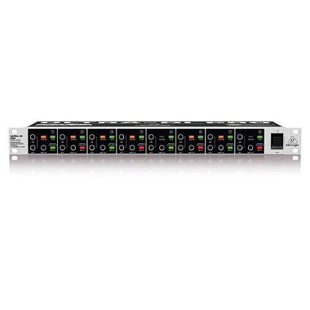 Direct Box Ativo 8 Canais Behringer DI800 110V Ultra-Di
