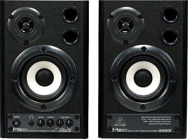 Monitor de Áudio Behringer MS20 110V