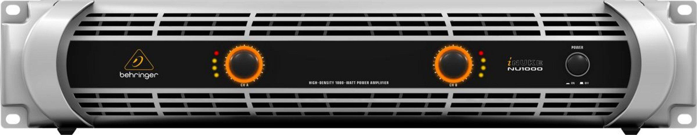 Amplificador Behringer Inuke NU1000 110V