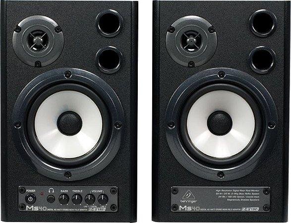 Monitor de Audio Behringer MS40 (Par) 110V 40W