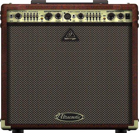 Amplificador Para Violão e Voz Behringer ACX450 45W Marrom