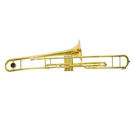 Trombone de Pisto Em BB Benson BTBV1L Laqueado Com Case