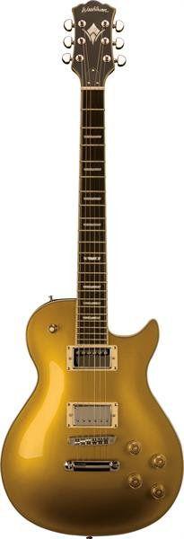 Guitarra Washburn Winstdg Dourada com Case