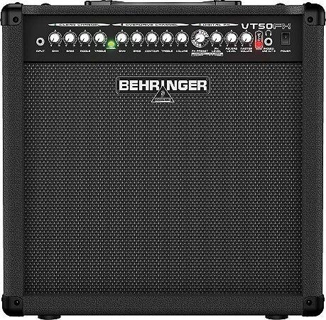 """Amplificador Cubo Para Guitarra Behringer VT50FX 110V 12"""""""