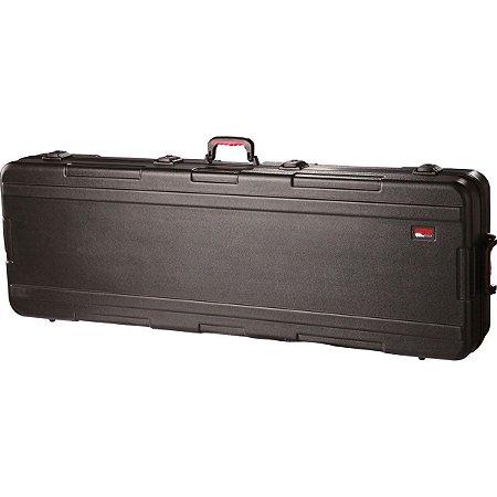 Case para Teclado 88 Teclas Gator GKPE 88D TSA com Rodas