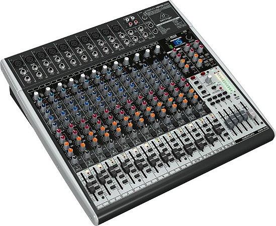 Mesa de Som Behringer X2442USB Mixer Xenyx Bivolt