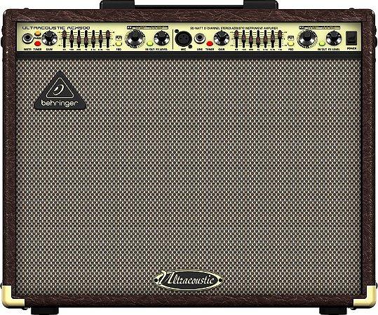 Amplificador Para Violão e Voz  Behringer ACX900 90W Marrom
