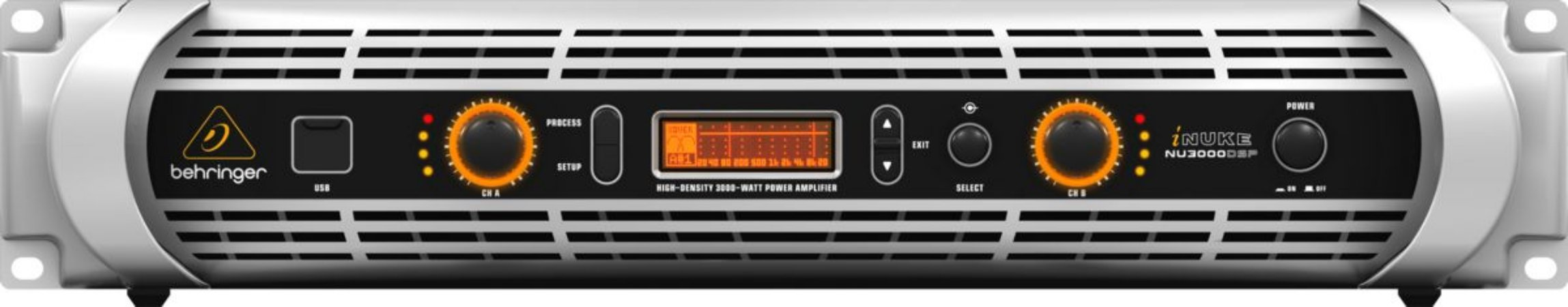 Amplificador Behringer Inuke DSP NU3000 DSP 220V
