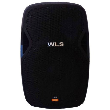 Caixa Acústica Ativa Wls S15 Titanium 2 Vias Bluetooth 250W RMS